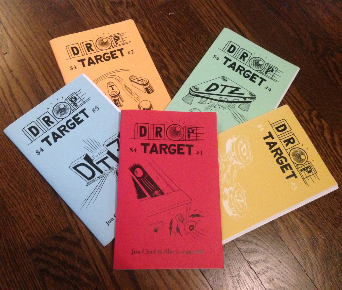 Drop Target Zine by Jon Chad & Alec Longstreth
