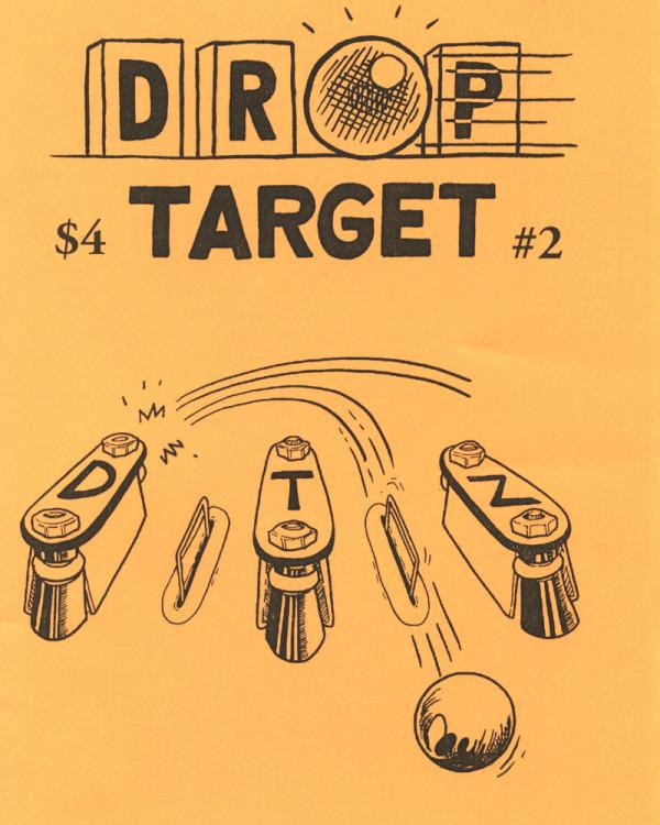 Drop Target Zine No. 2 by Jon Chad & Alec Longstreth