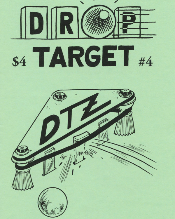 Drop Target Zine No. 4 by Jon Chad & Alec Longstreth