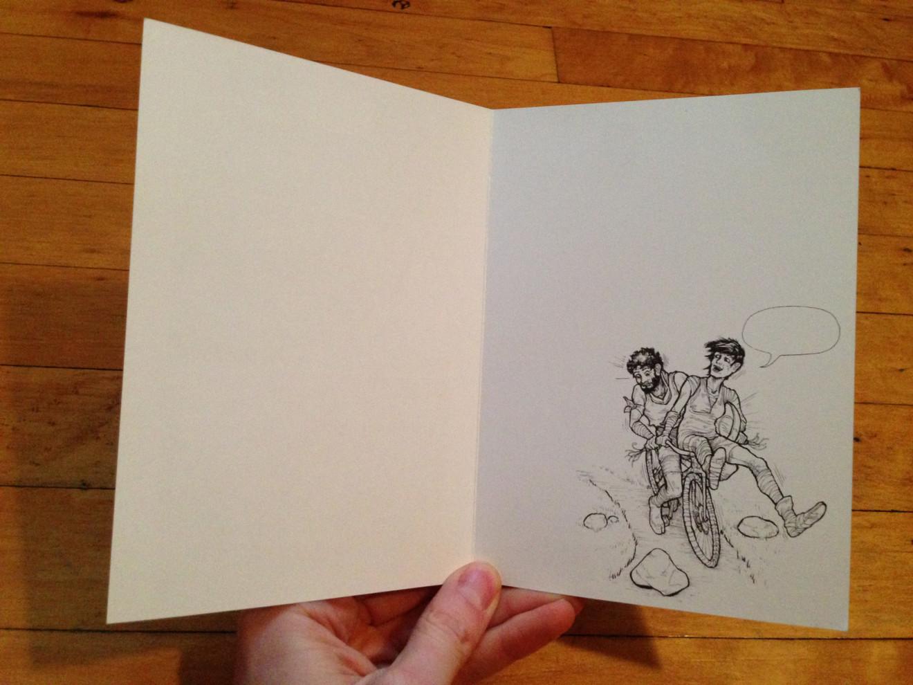 Loaded Blanks Greeting Cards Radiator Comics