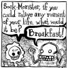 Sock-Monster Button Pack