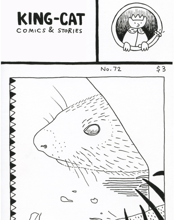 King-Cat Comics & Stories 72 by John Porcellino