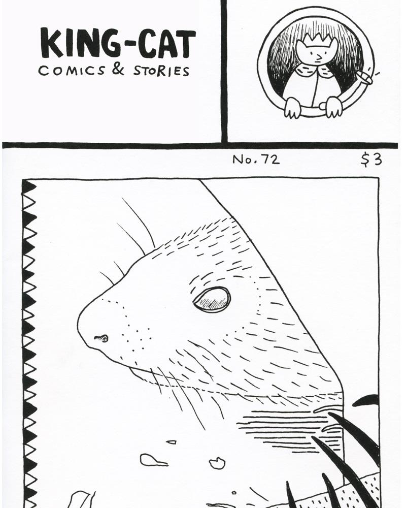 King-Cat Comics & Stories 72 by John Porcellino