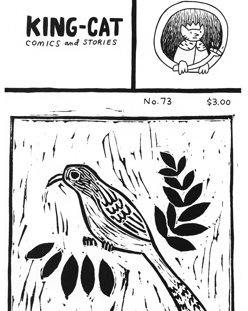 King-Cat Comics & Stories 73 by John Porcellino