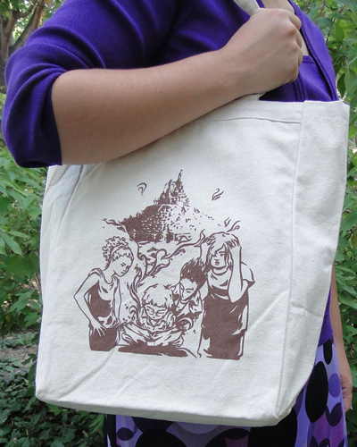 Last Train To Old Town / Plot Totebag