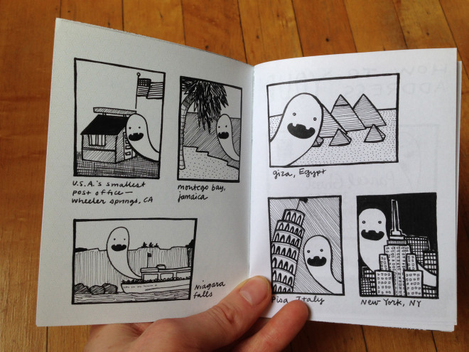 Parcel Ghosts Guide to Post by Marissa Falco