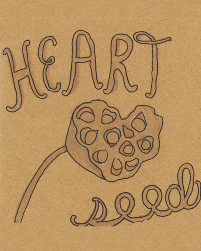Heart Seed by Leslie Perrine