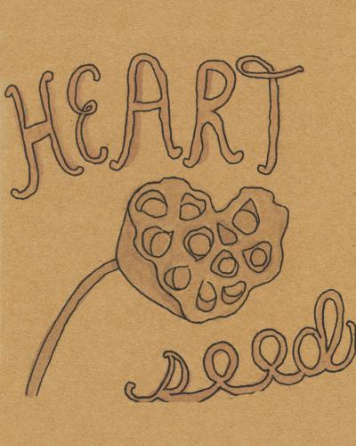Heart Seed by Leslie Perrine