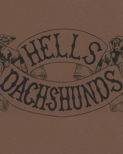 Hells Dachshunds by Reid Psaltis