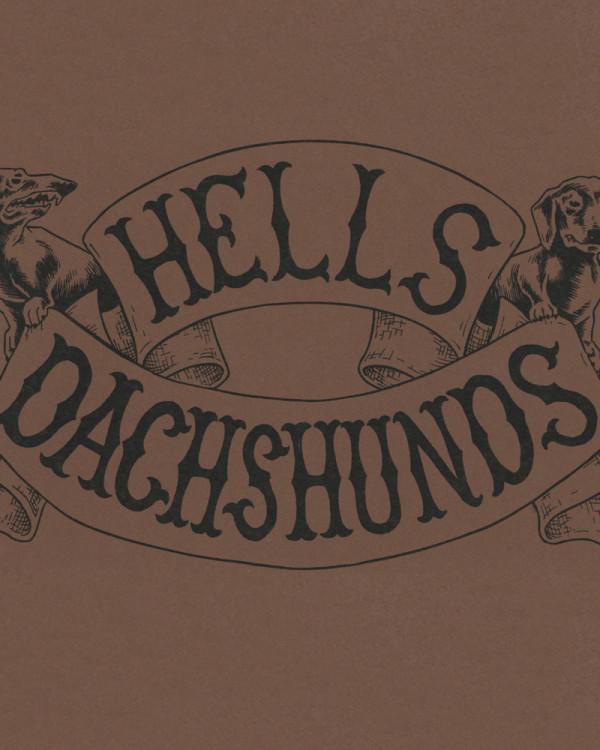 Hells Dachshunds by Reid Psaltis