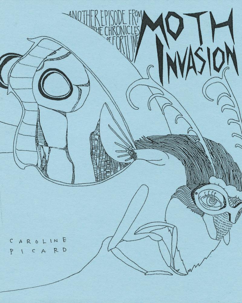 Moth Invasion by Caroline Picard