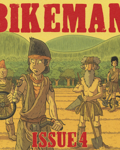 Bikeman No. 4 by Jon Chad