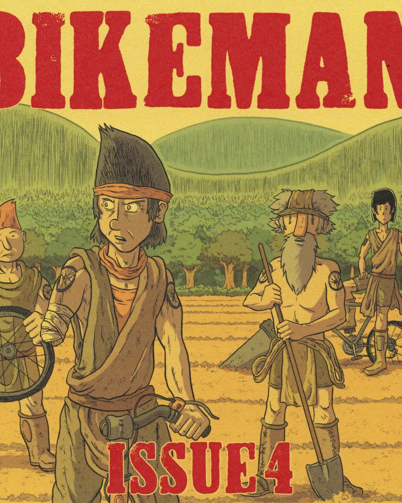 Bikeman No. 4 by Jon Chad