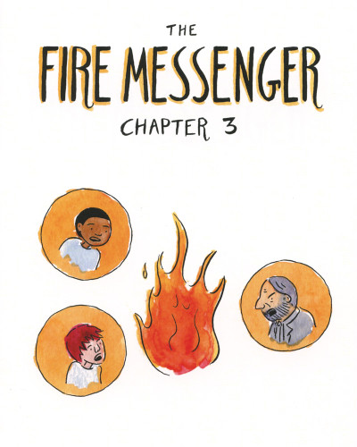 Fire Messenger No. 3 by Penina Gal