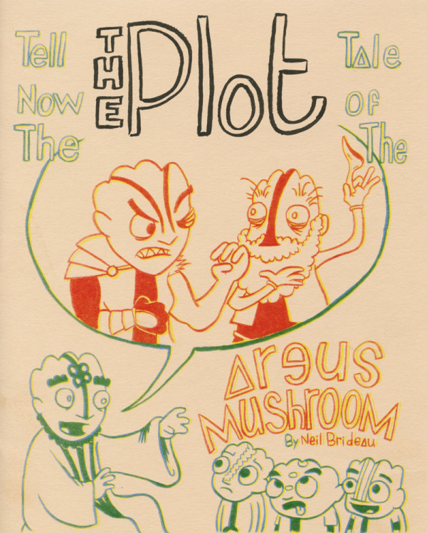 Tell Now The Tale Of The Argus Mushroom by Neil Brideau