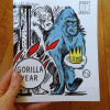 Gorilla Year No. 3 by Cara Bean