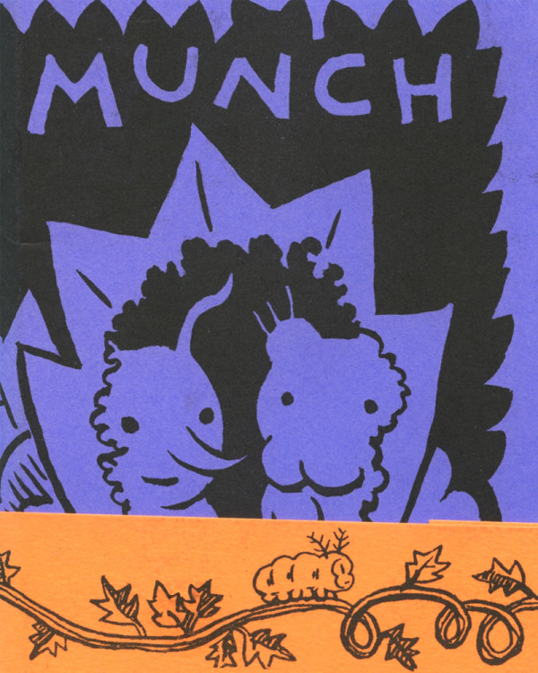 Munch Accordion Comics by Cara Bean