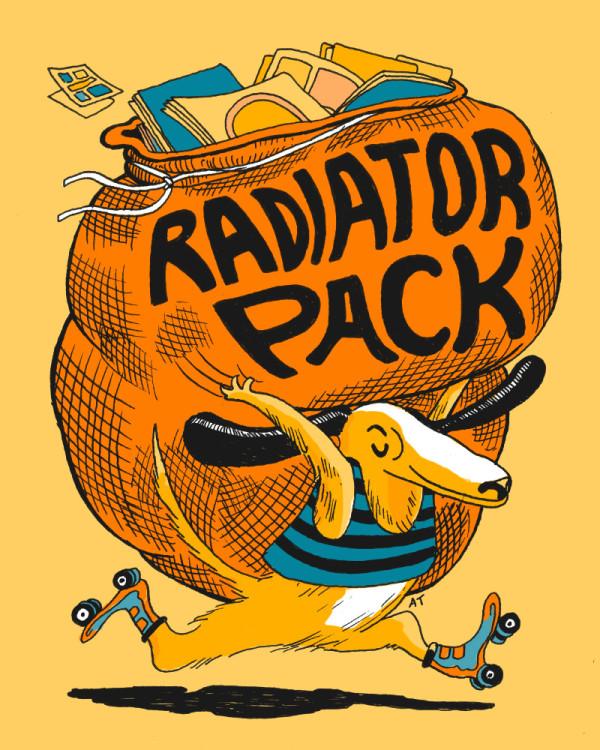 Radiator Pack! art by Andrea Tsurumi