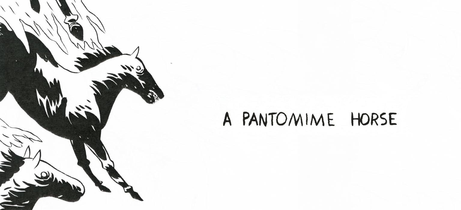 A Pantomime Horse by Ben Passmore