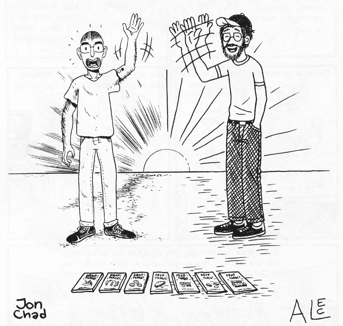 Jon and Alec