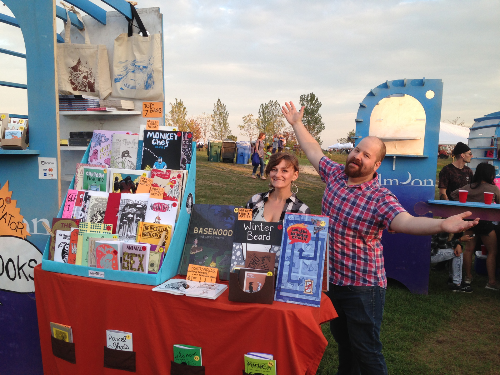 Cathy Hannah & Mike Freiheit at the Great Chicago Fire Festival 2015