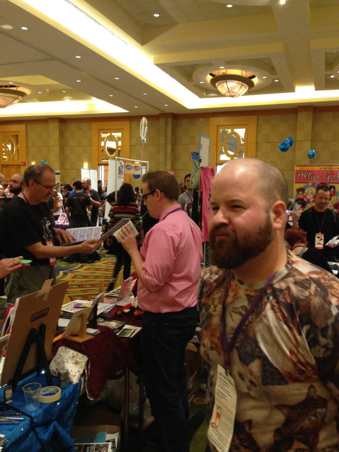 Jeff Zwirek & Mike Freiheit at SPX 2015