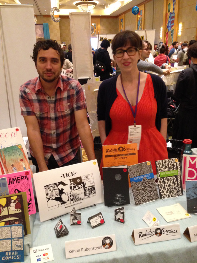 Kenan Rubenstein & Marnie Galloway at SPX 2015