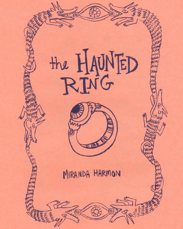 The Haunted Ring by Miranda Harmon