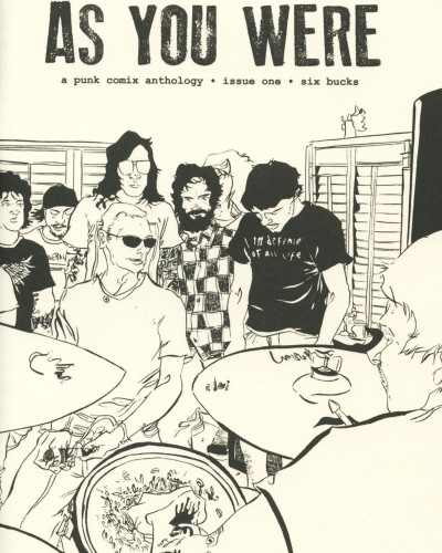 As You Were No. 1 edited by Mitch Clem