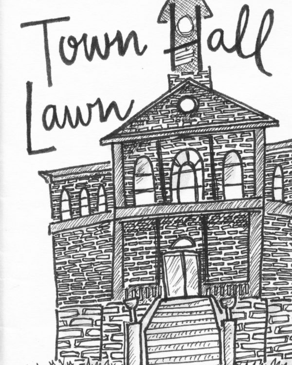 Town Hall Lawn by Marissa Falco
