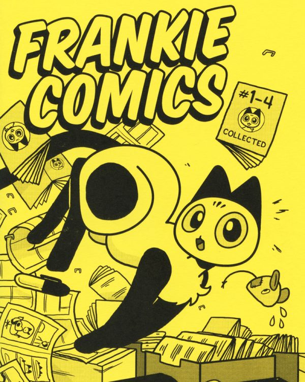 Frankie Comics No's 1 - 4 Colleted SPX Special Edition by Rachel Dukes