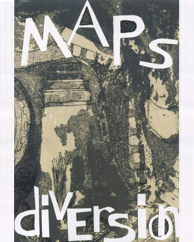 Maps & Diversion No. 4 by Kate Brideau PhD