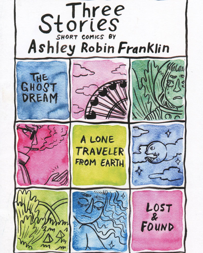 Three Stories by Ashley Robin Franklin