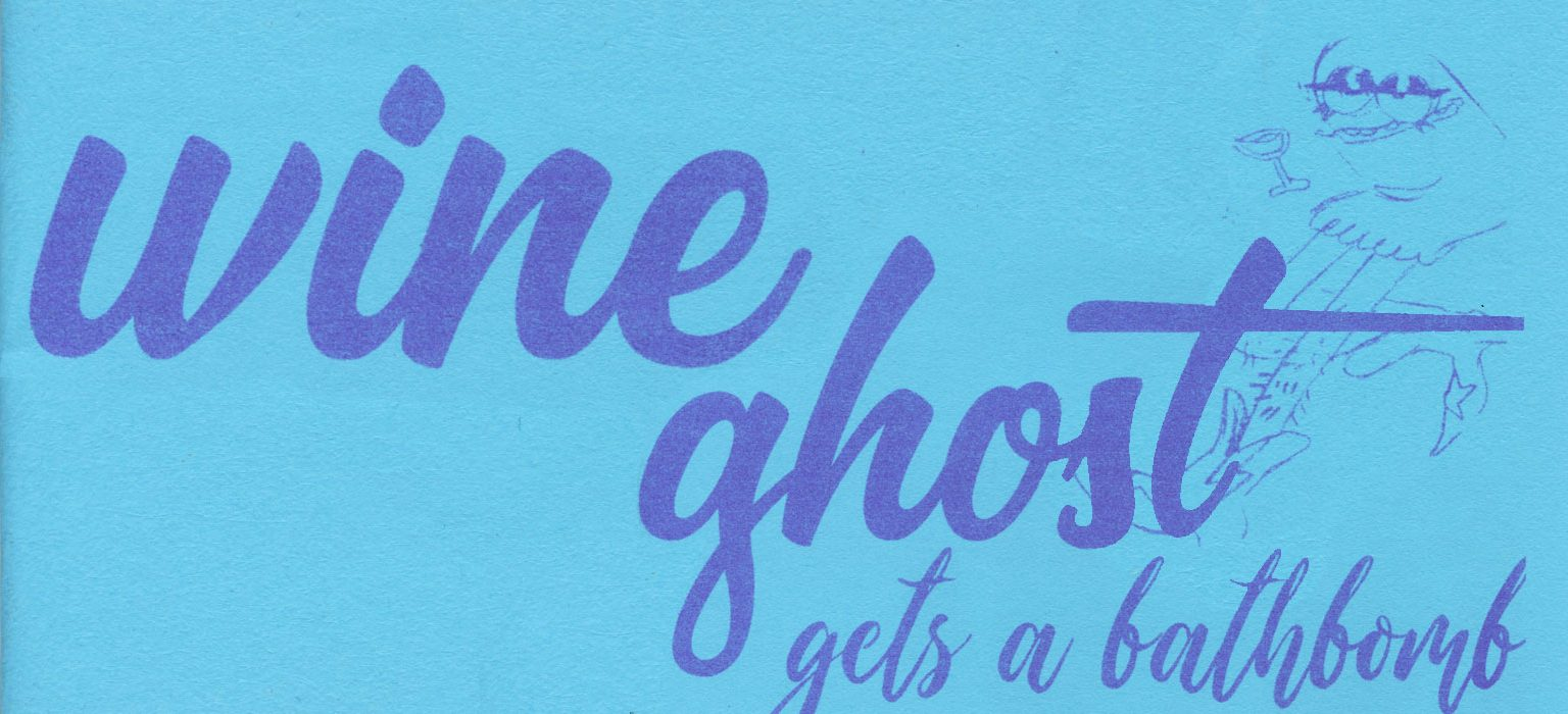 Wine Ghost Gets A Bathbomb feature
