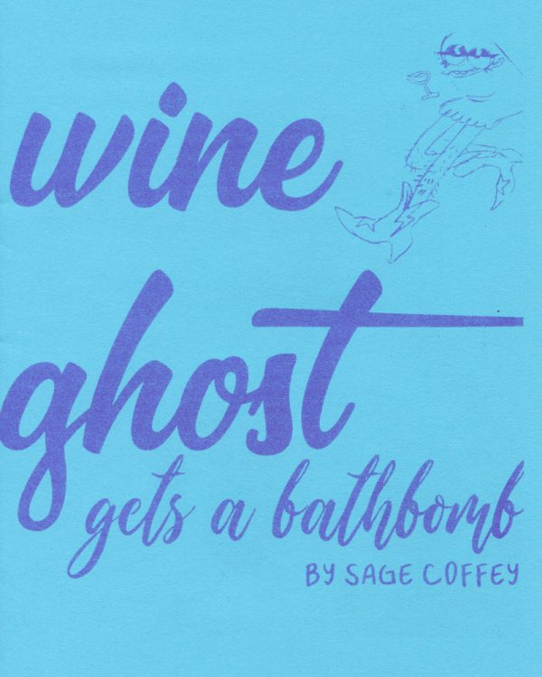 Wine Ghost Gets A Bathbomb by Sage Coffey