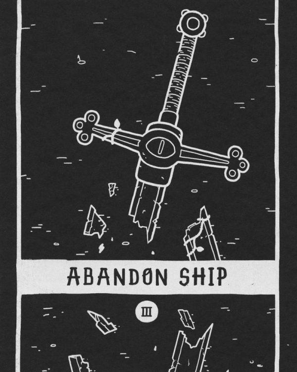 Abandon Ship III by Luke Howard
