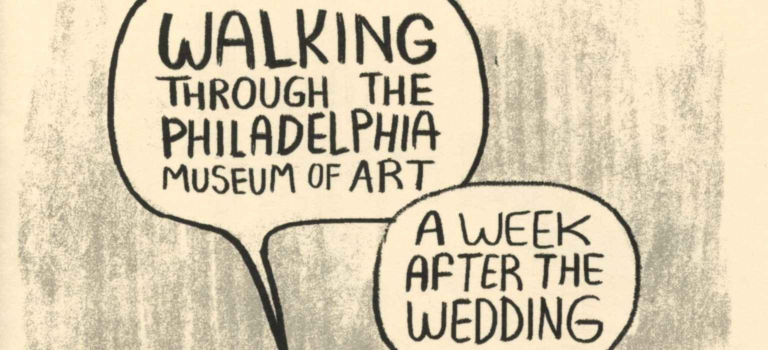 Walking Through The Philadelphia Museum of Art A Week After The Wedding feature