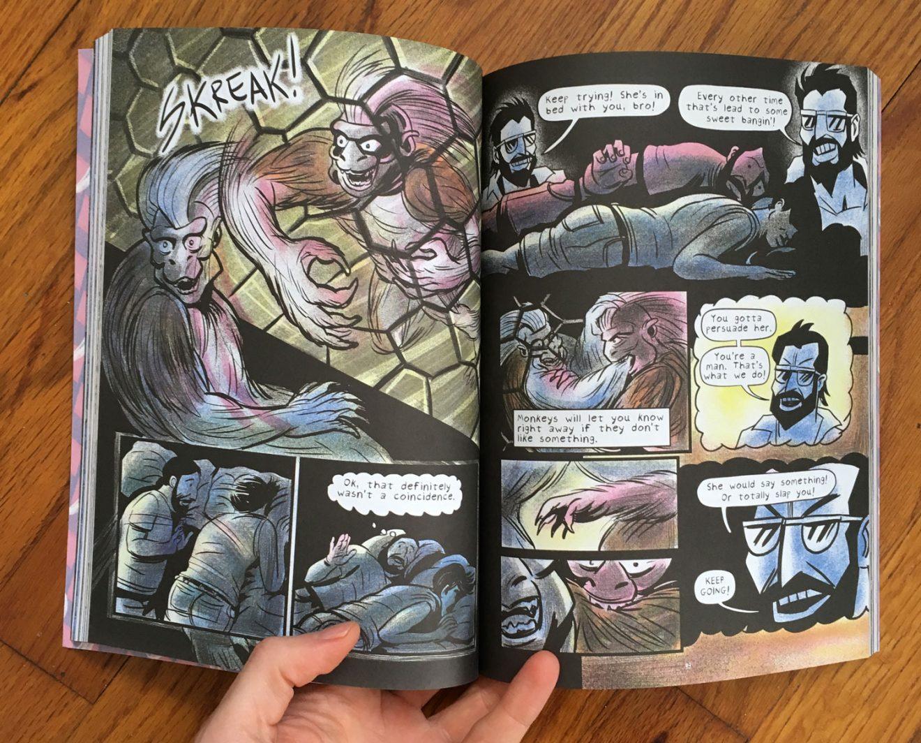 Monkey Chef A Love Story by Mike Freiheit