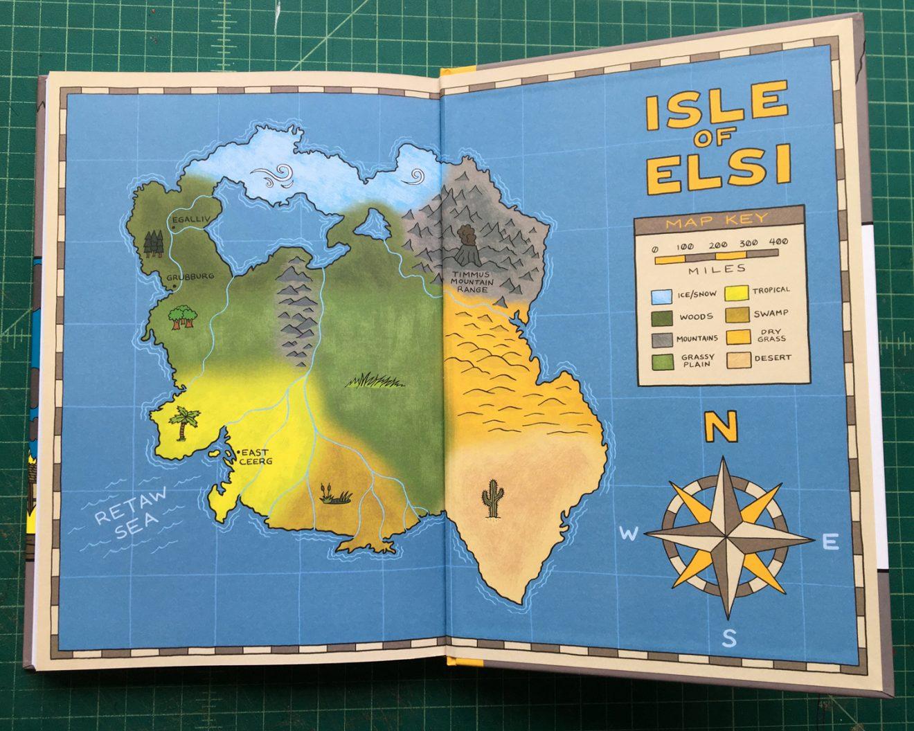 Isle of Elsi vol. 1 by Alec Longstreth