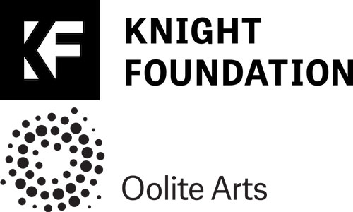 Knight Foundation & Oolite Arts Logos