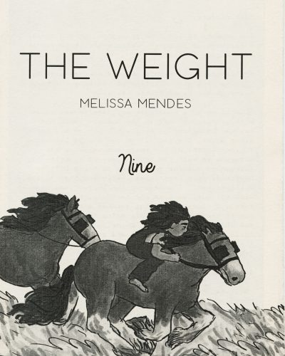 The Weight No. 9 by Melissa Mendes