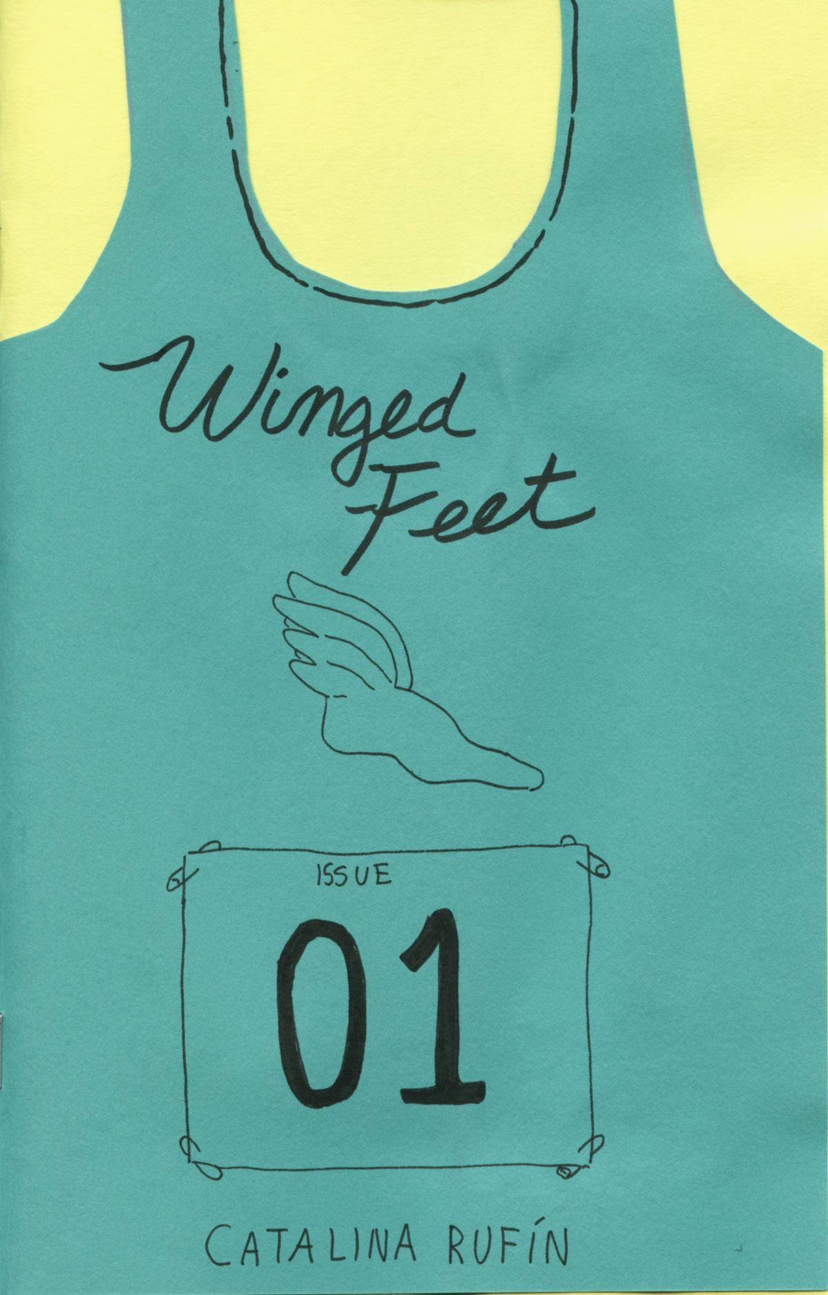 Winged Feet No. 1 by Catalina Rufín