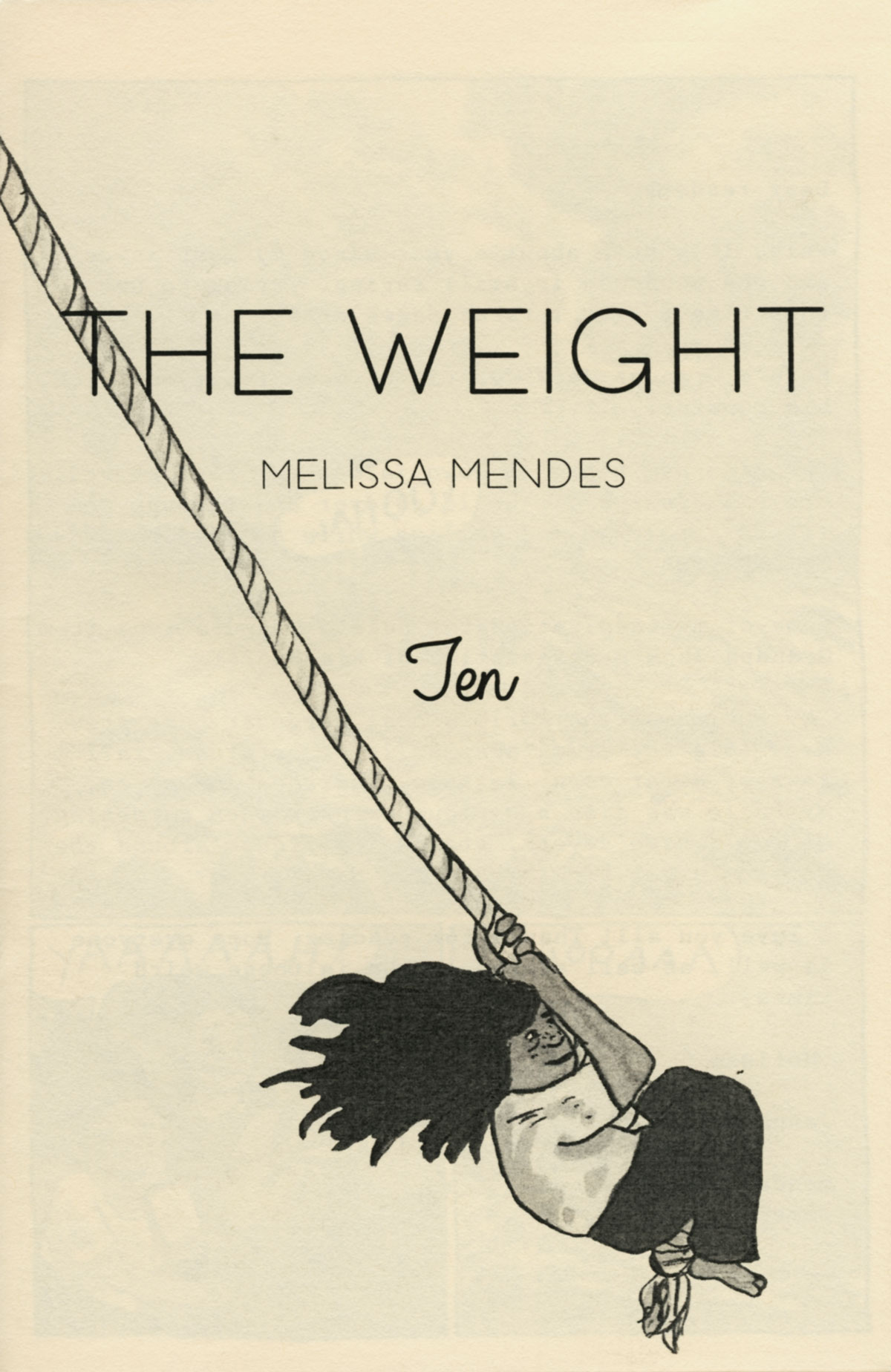 The Weight No. 10 by Melissa Mendes